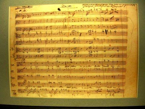 Mozart-requiem-autograph